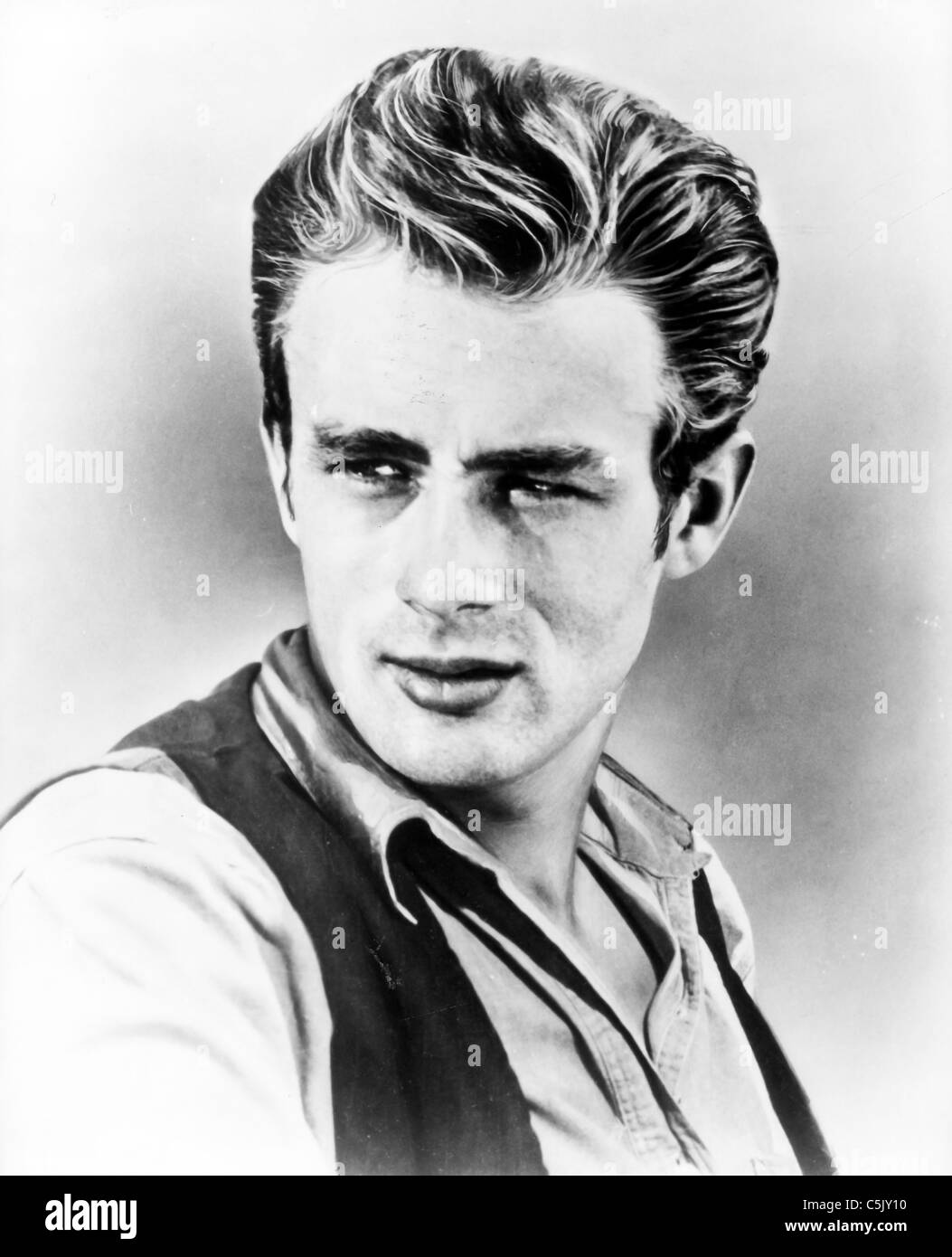 James Dean Riese, 1955 Stockbild