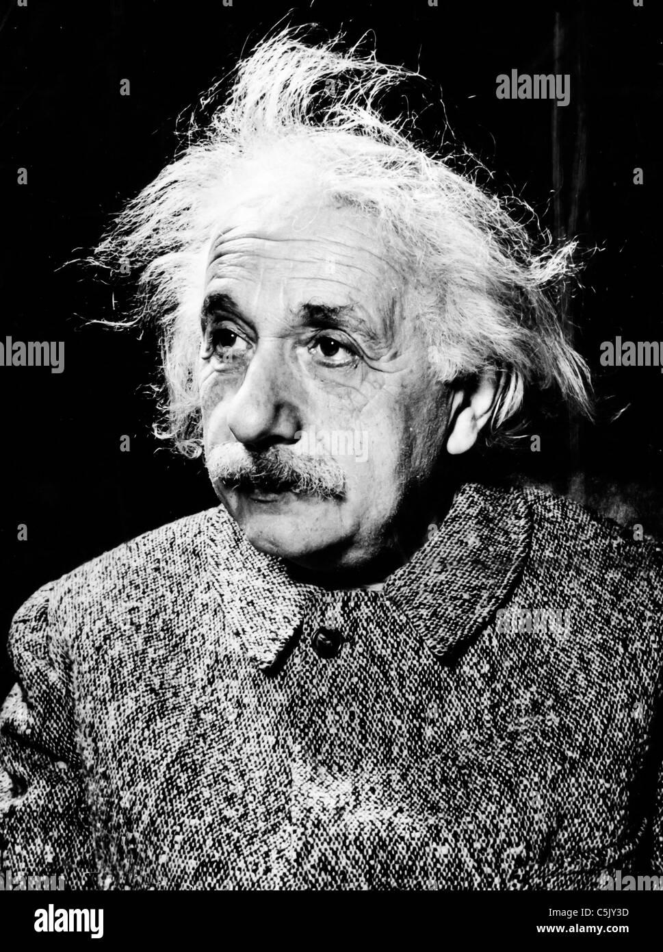 Albert Einstein, 40 s Stockbild