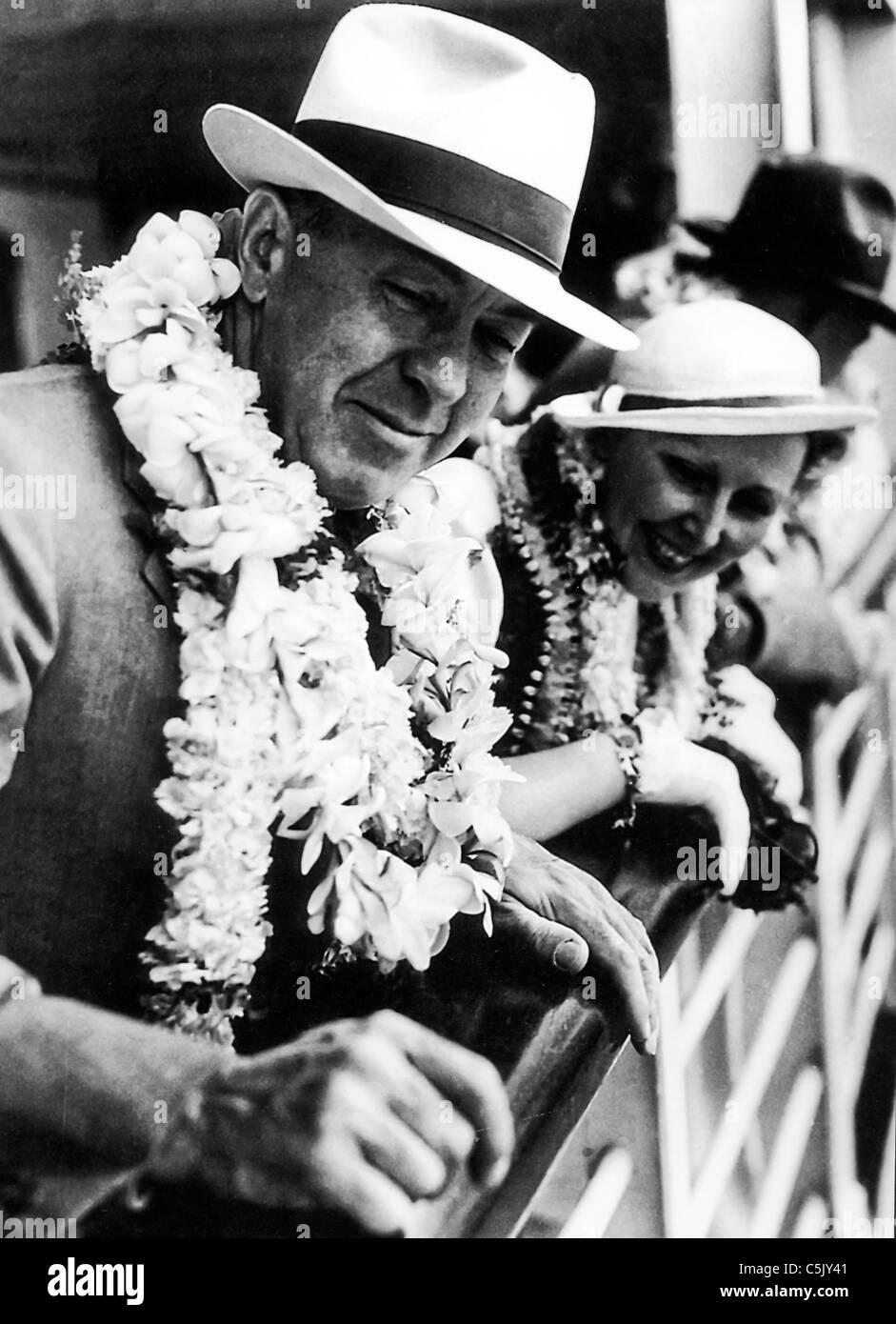 Edgar Rice Burroughs, 40 s Stockbild