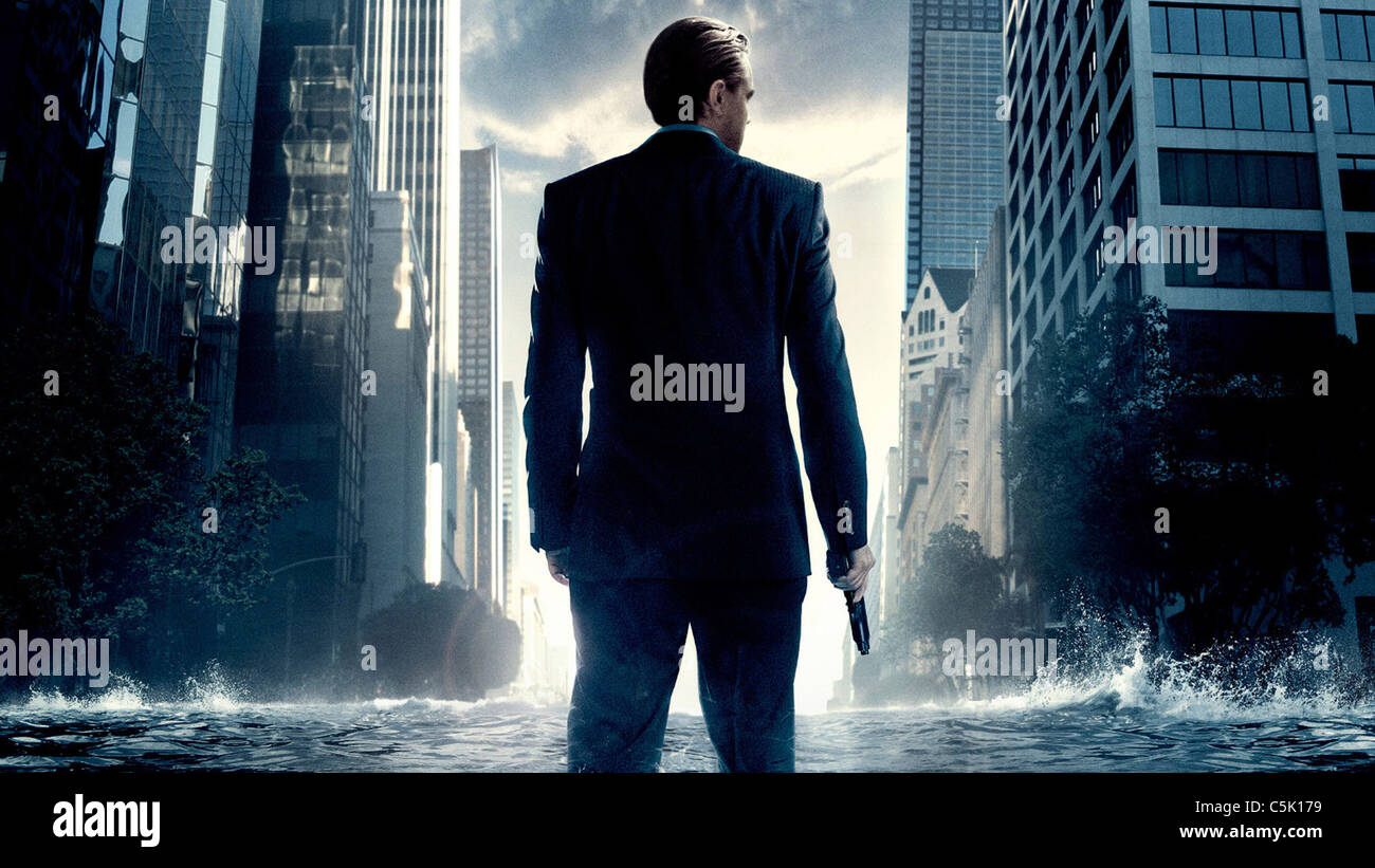 INCEPTION (2010) LEONARDO DICAPRIO, CHRISTOPHER NOLAN (DIR) 007 MOVIESTORE SAMMLUNG LTD Stockbild