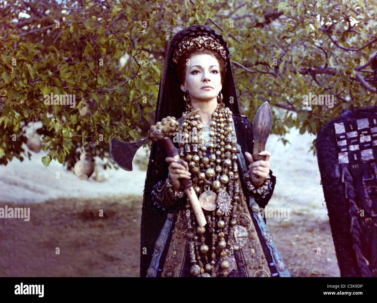 Medea Jahr Italien 20 Regie Pier Paolo Pasolini Maria Callas ...