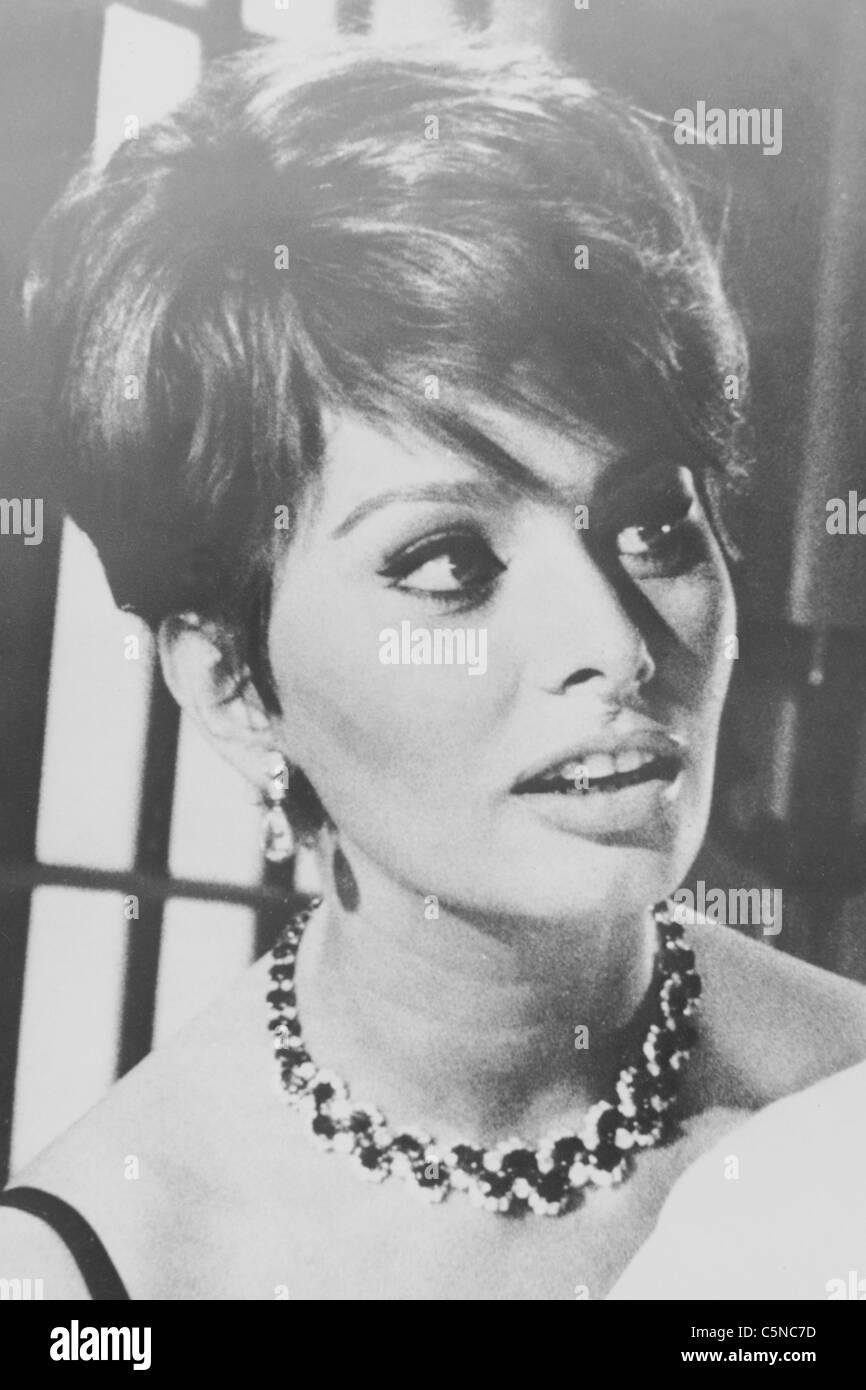Sophia Loren Stockbild