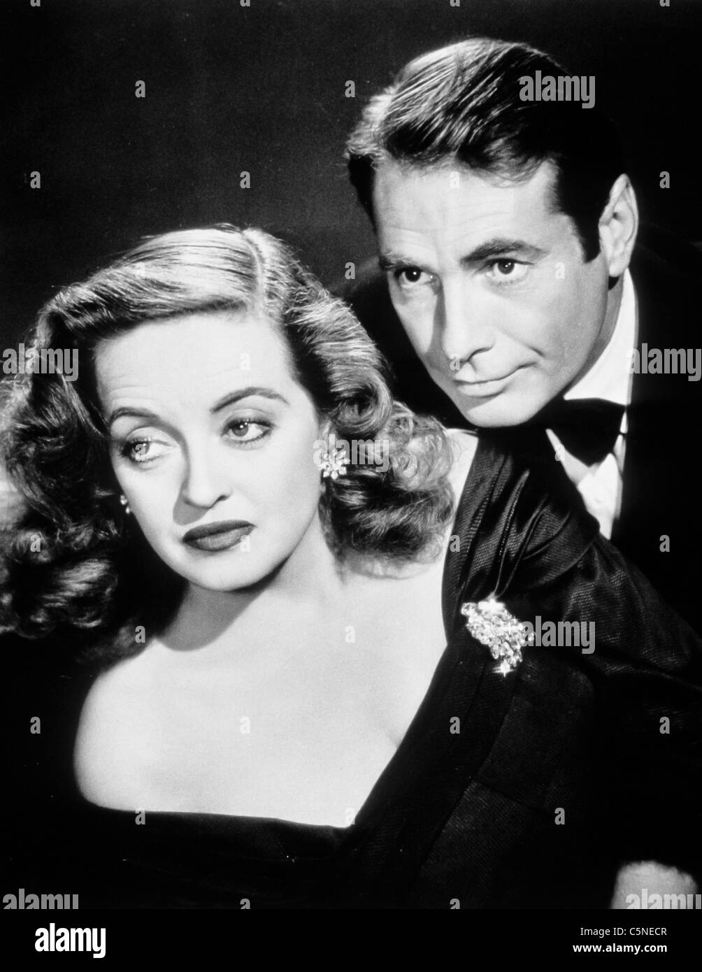 Bette Davis, Gary Merrill in alles über Eva, 1950 Stockbild