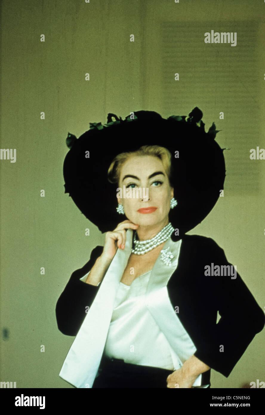 Joan Crawford Stockbild