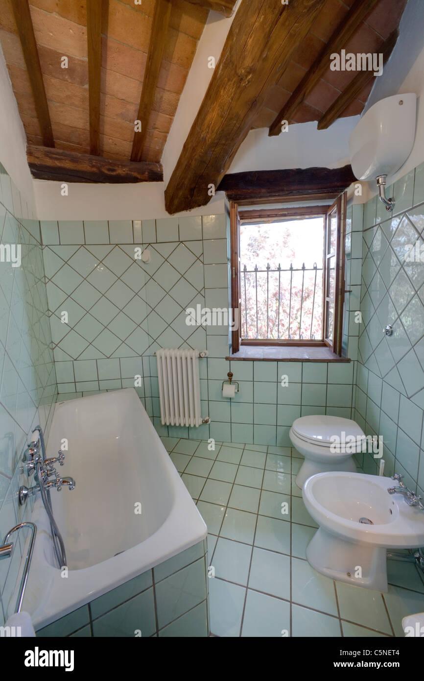 Italienische Badezimmer, Toskana, Italien Stockfoto, Bild: 37966660 ...