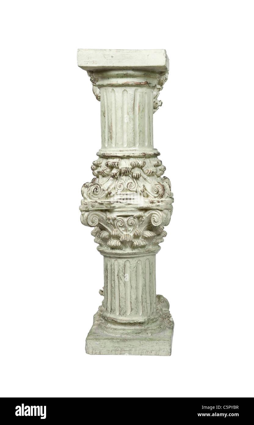 Komplizierte Stein formale Sockel für ein Element von Bedeutung - Pfad enthalten aufrichten Stockbild