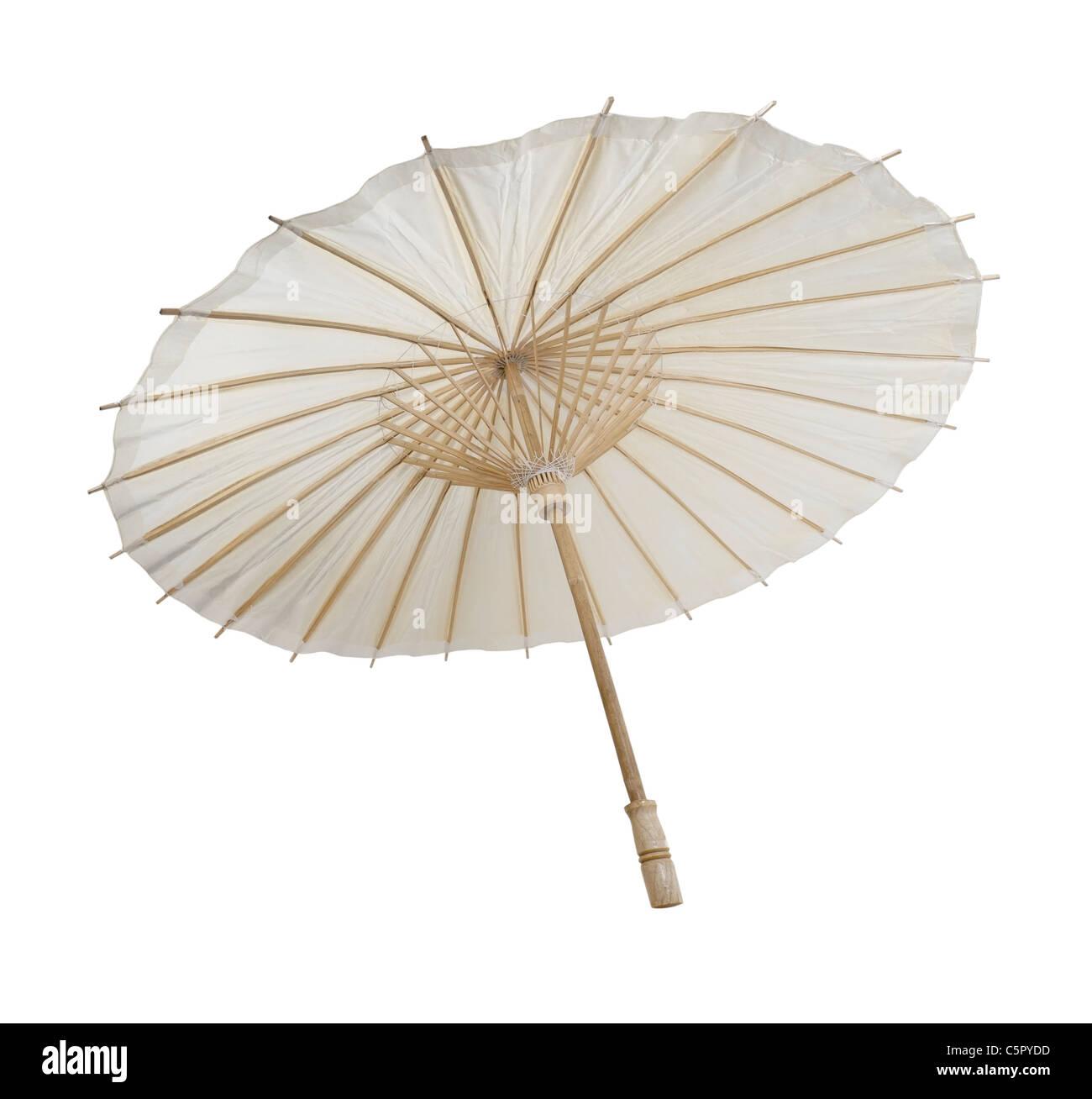 Asiatischer Sonnenschirm traditionelle asiatische papier und bambus sonnenschirm mit einem