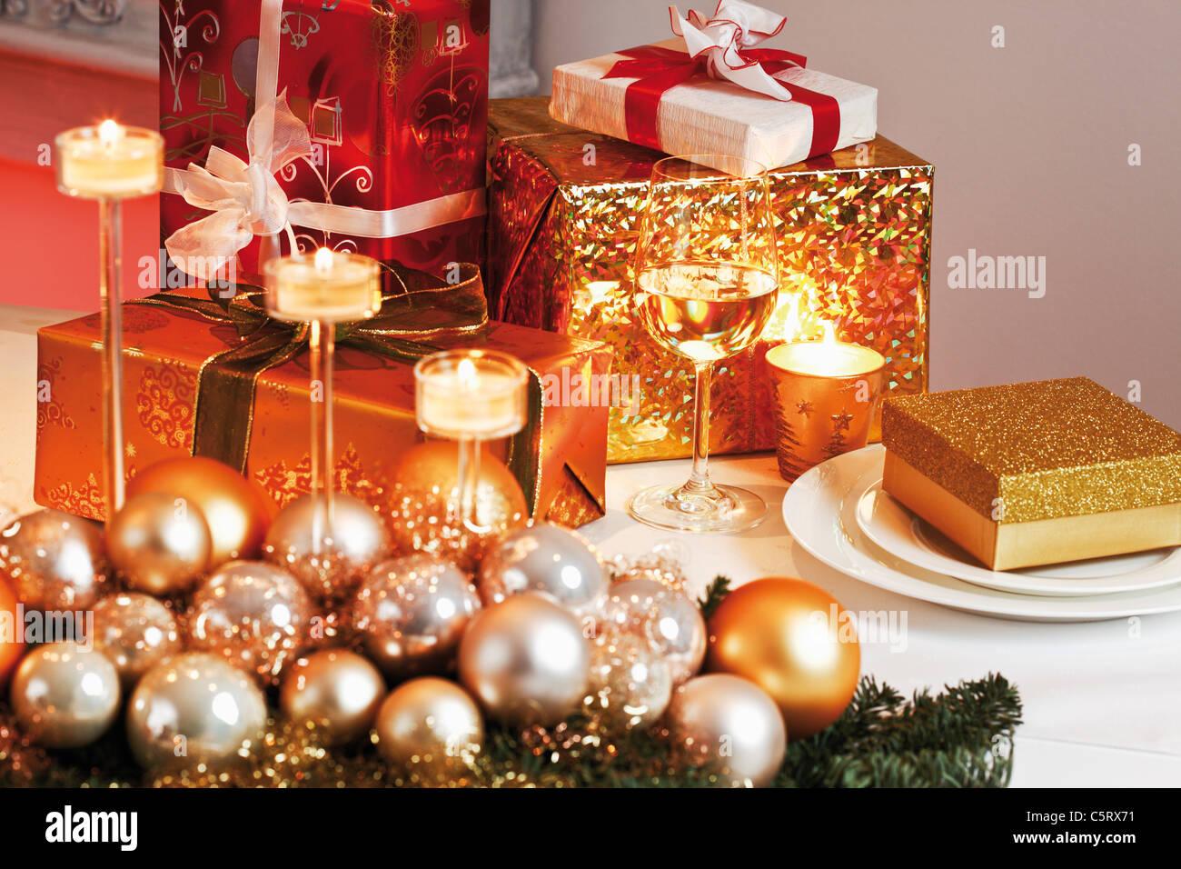 Atemberaubend Weihnachtsdekoration Für Küchentisch Fotos ...