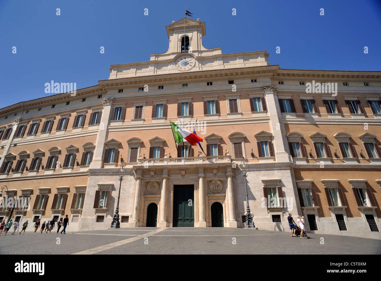 italien rom palazzo di montecitorio italienische