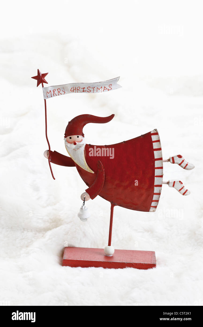 Weihnachtsdekoration, Santa Claus Stockfoto