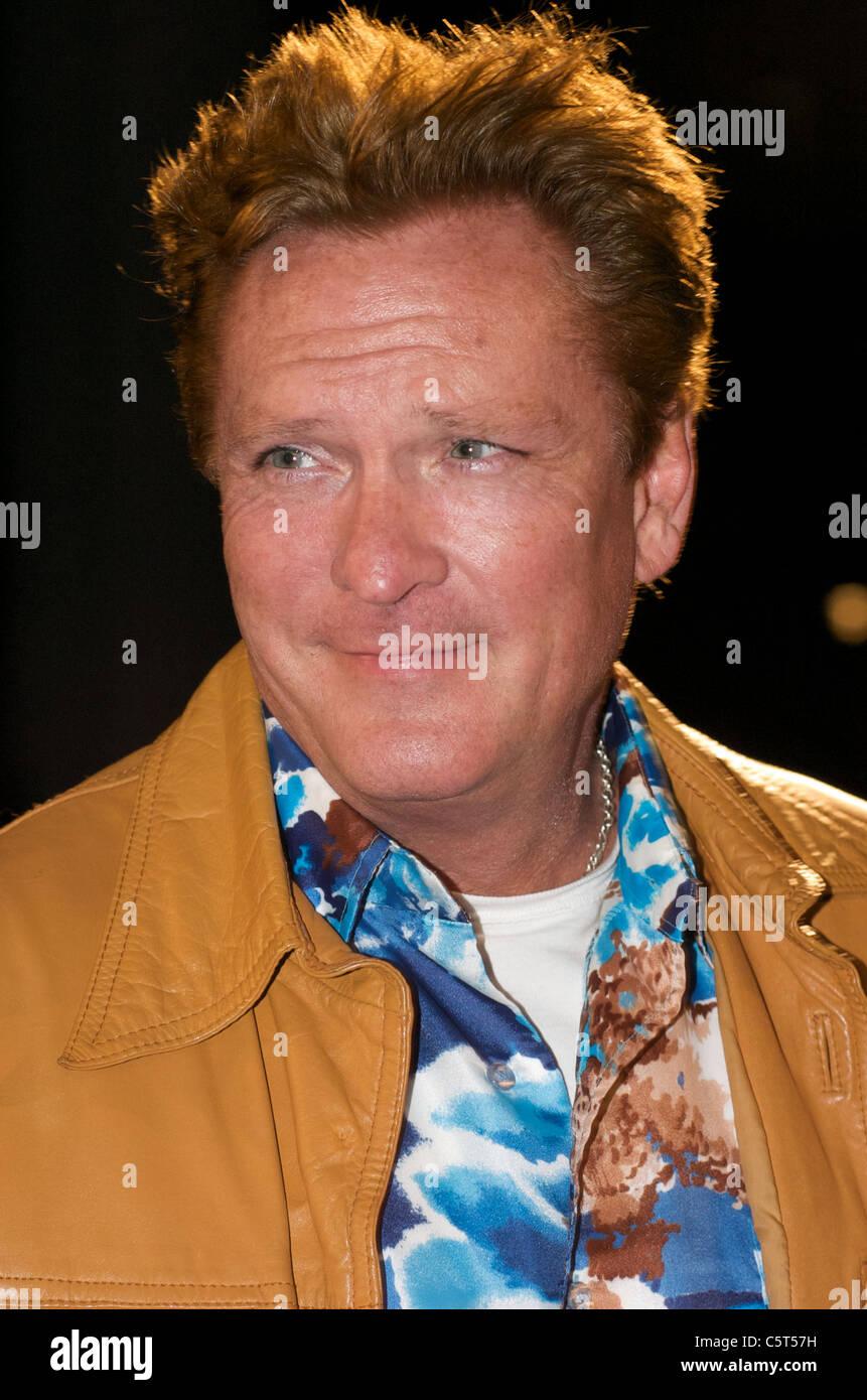 Michael Madsen Kopfschuss 2010 - Bild Copyright Hollywood Kopfschüsse Stockbild
