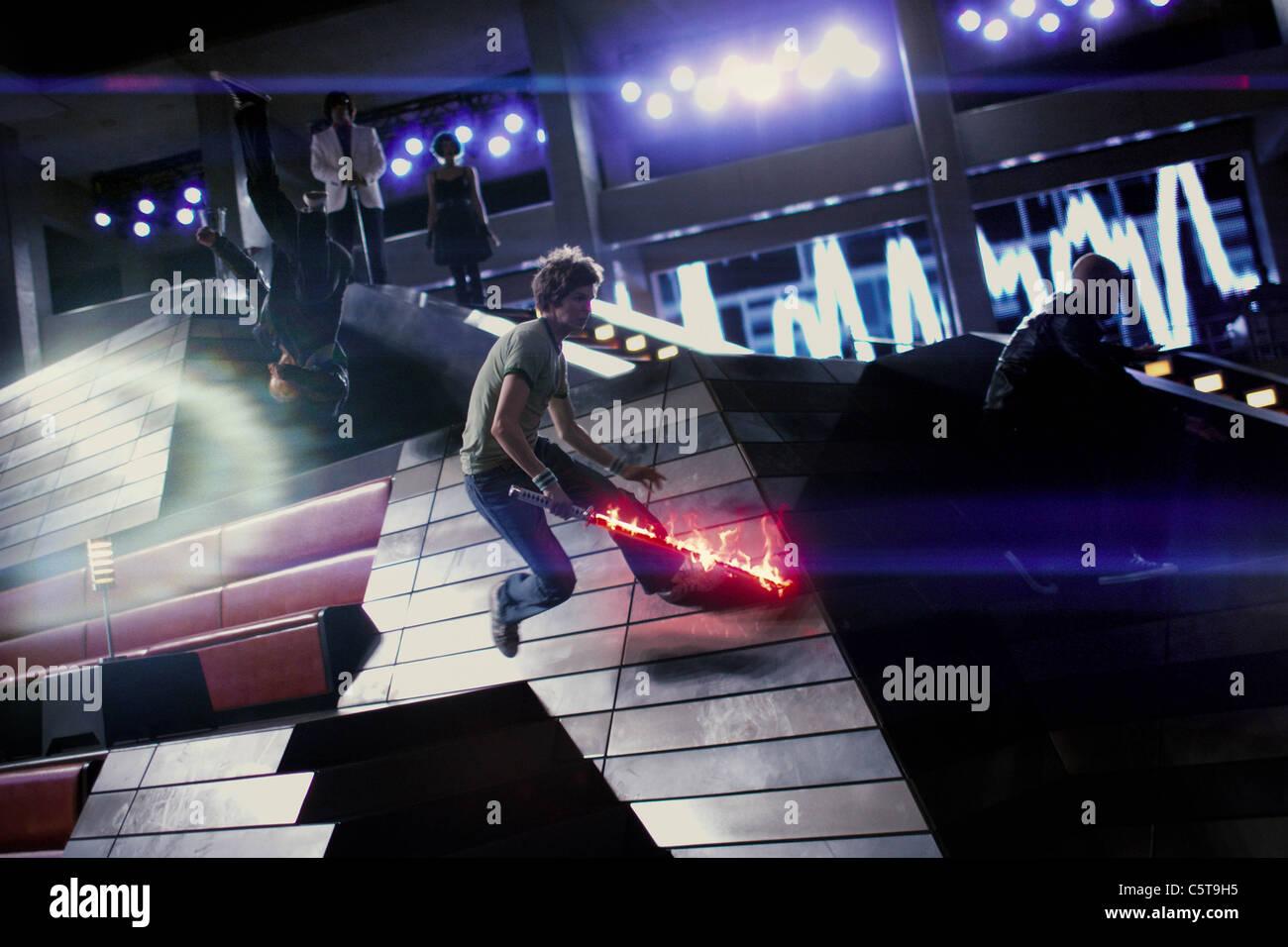 SCOTT PILGRIM VS. DIE WELT (2010) EDGAR WRIGHT (DIR) MICHAEL CERA 001 MOVIESTORE SAMMLUNG LTD Stockbild