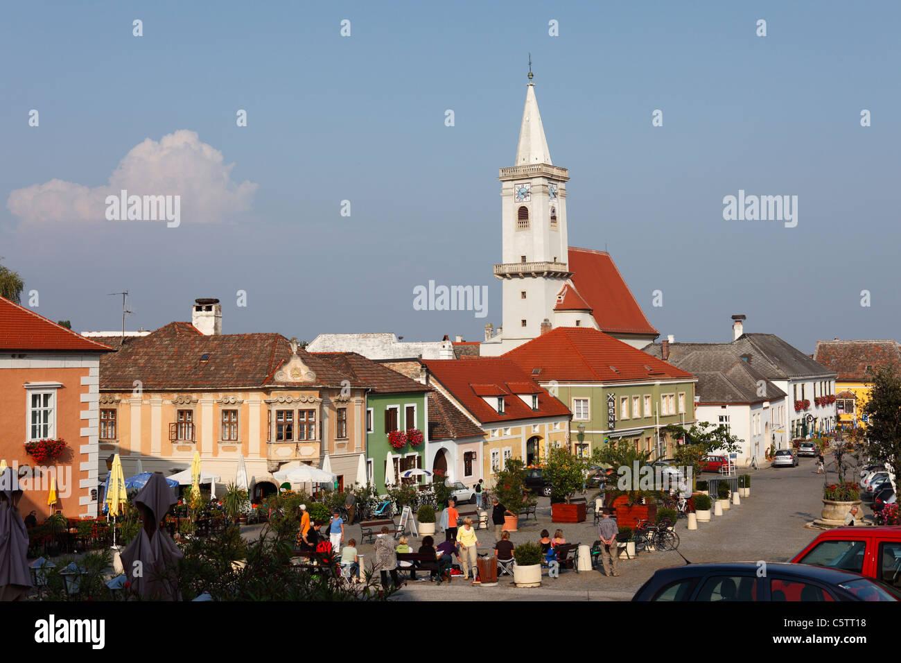 Rust neusiedlersee  Österreich, Burgenland, Rust am Neusiedler anzuzeigen Stockfoto ...