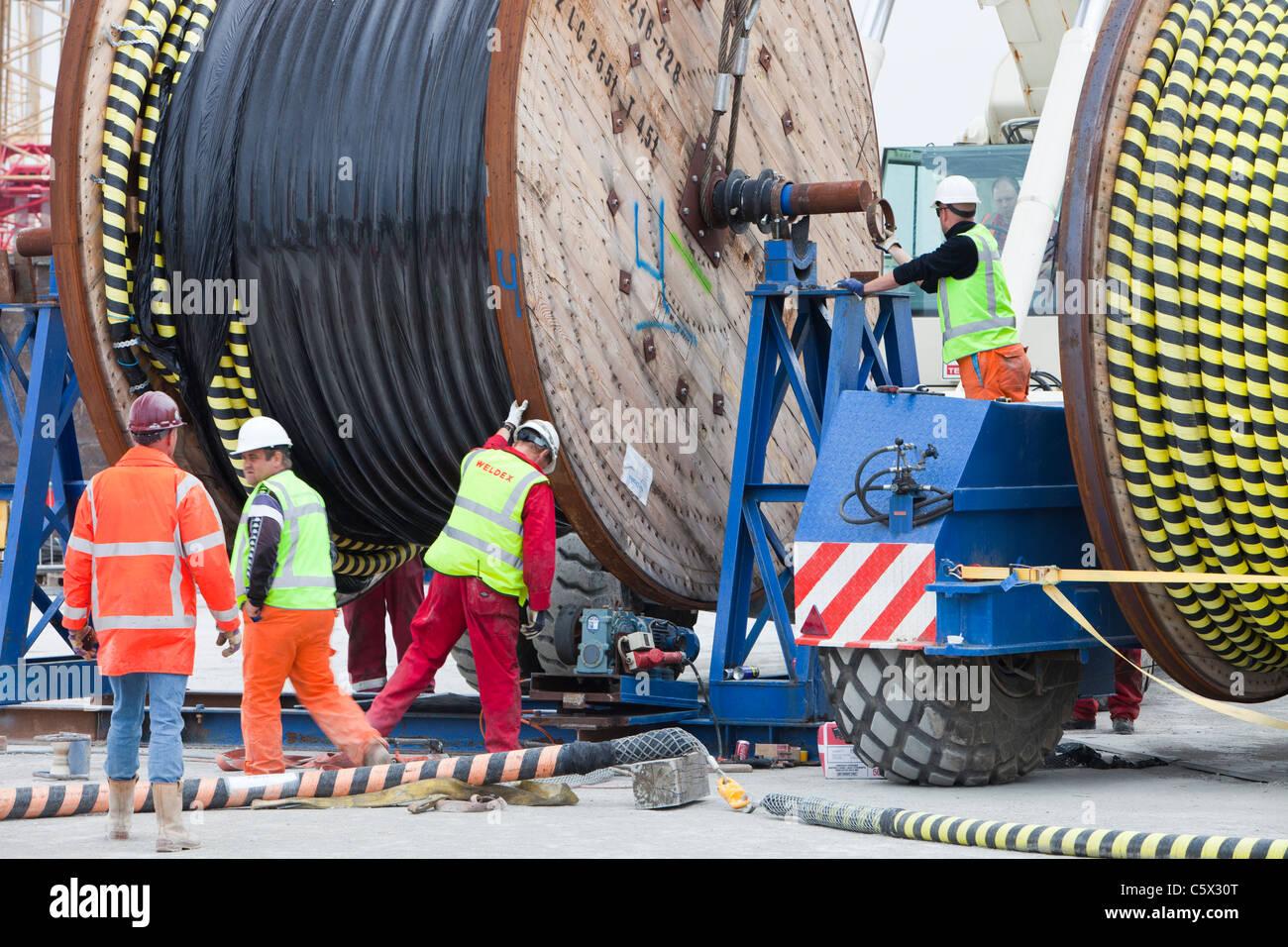 Offshore-elektrische Verkabelung für das Walney Offshore-Windpark ...