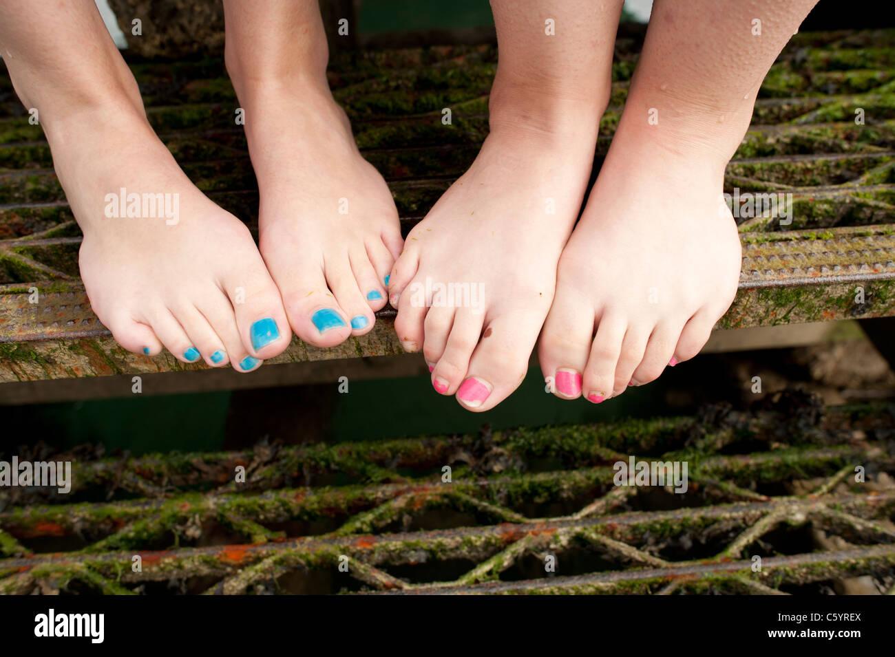 Füße datieren uk