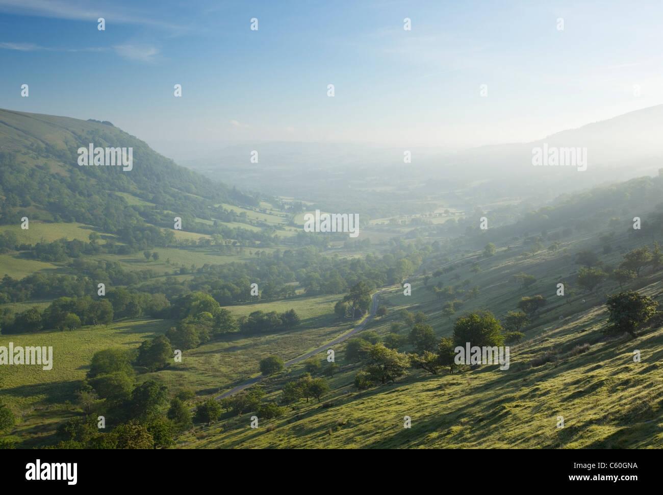 Senni Tal. Brecon Beacons National Park. Powys. Wales. VEREINIGTES KÖNIGREICH. Stockbild