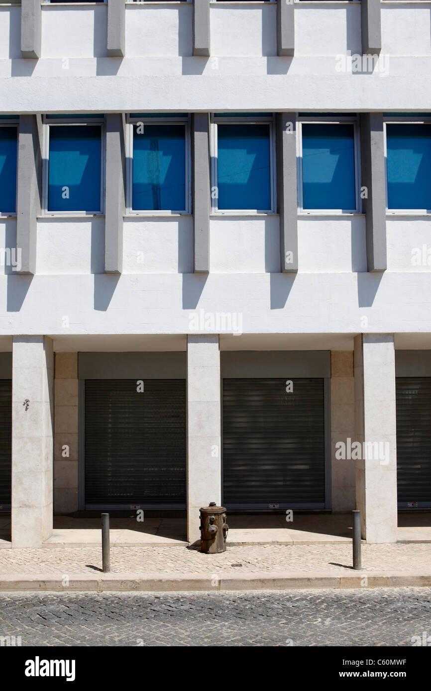 Zeitgenössische Architektur in Lissabon, Portugal. Stockbild