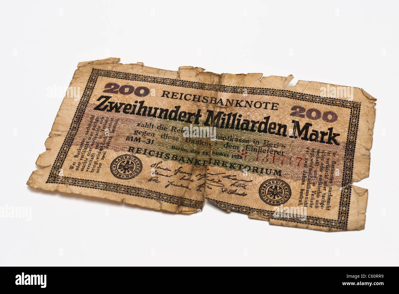 banknote reichsmark stockfotos banknote reichsmark. Black Bedroom Furniture Sets. Home Design Ideas