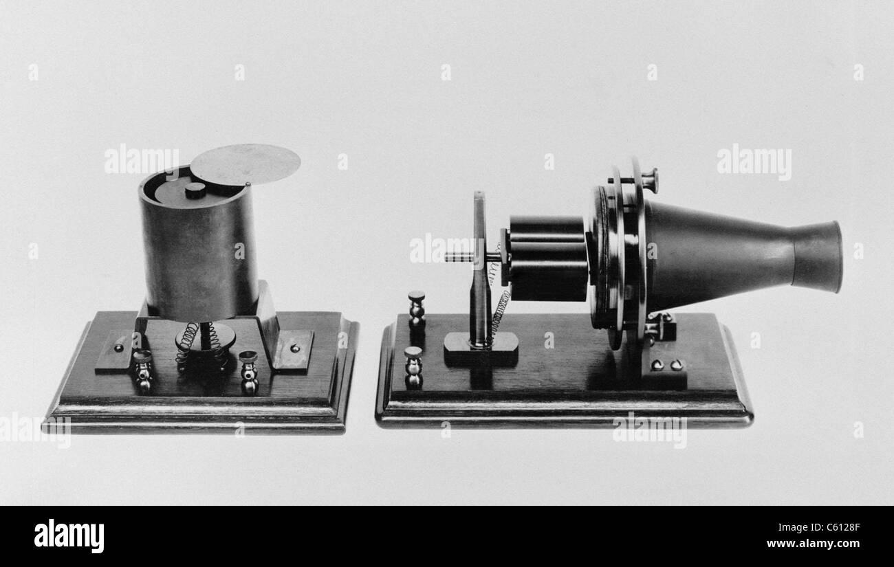 Erstes Telefon Bell
