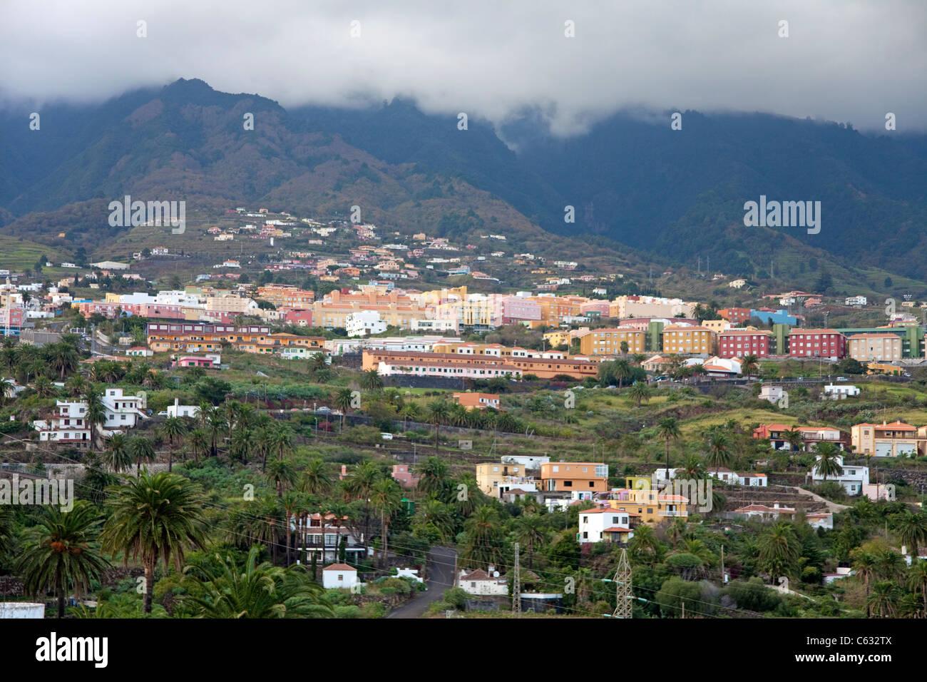 San Pedro, Dorf in Brena Alta, La Palma, Kanarische Inseln, Spanien, Europa Stockbild