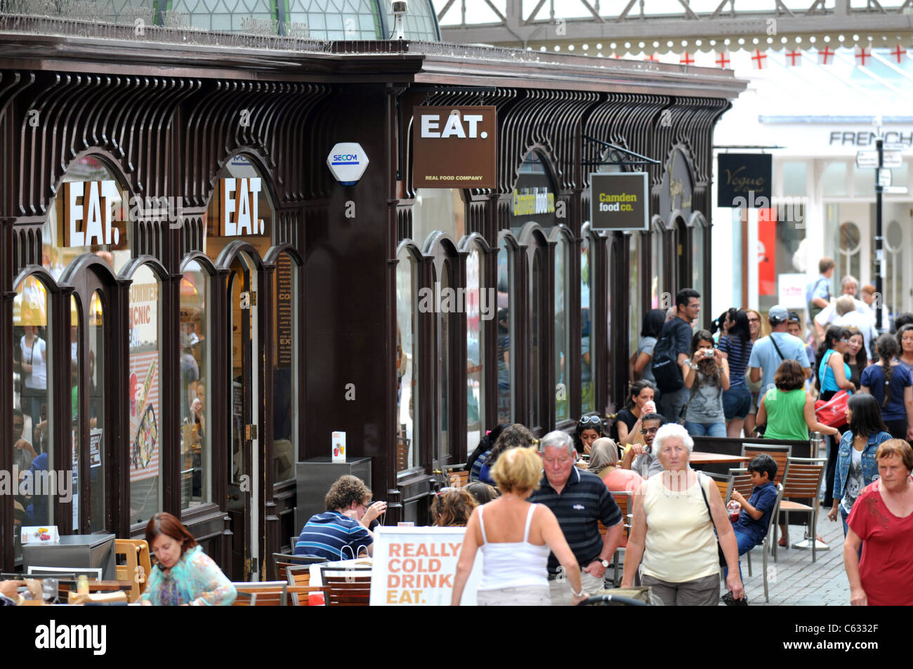 ESSEN. Restaurant, England, UK Stockbild