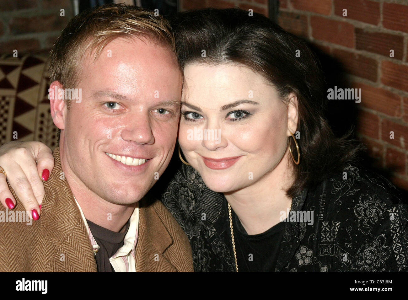 Jason Moore, Delta Burke auf der after-Party für SHOW-Business World Premiere beim Tribeca Film Festival, Tribeca Stockbild