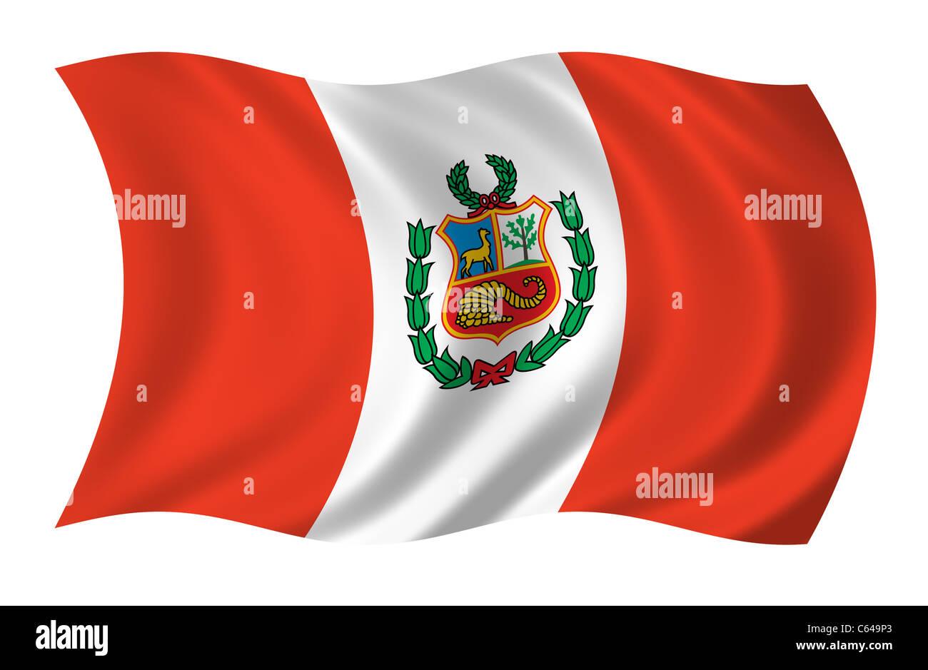Peru Flag Stockfotos   Peru Flag Bilder Alamy aea35fc05ec