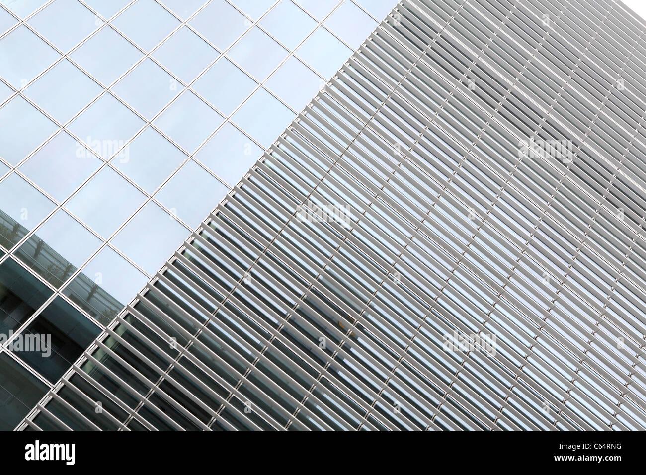 Zeitgenössische Architektur in Dublin Stockbild