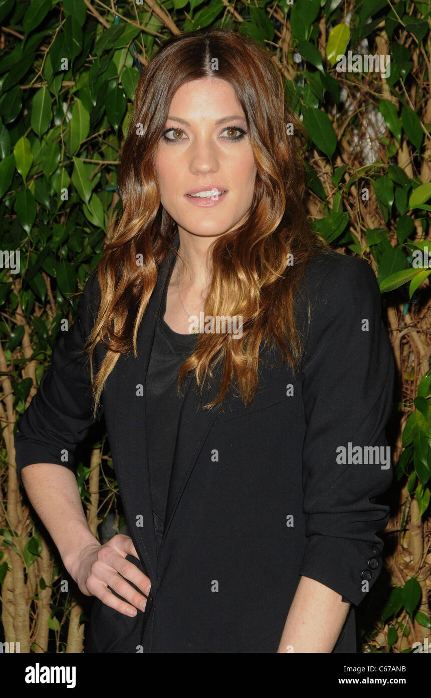 Jennifer Carpenter im Ankunftsbereich für QVC Red Carpet Style Party, Four Seasons Hotel Los Angeles, CA 25. Stockbild