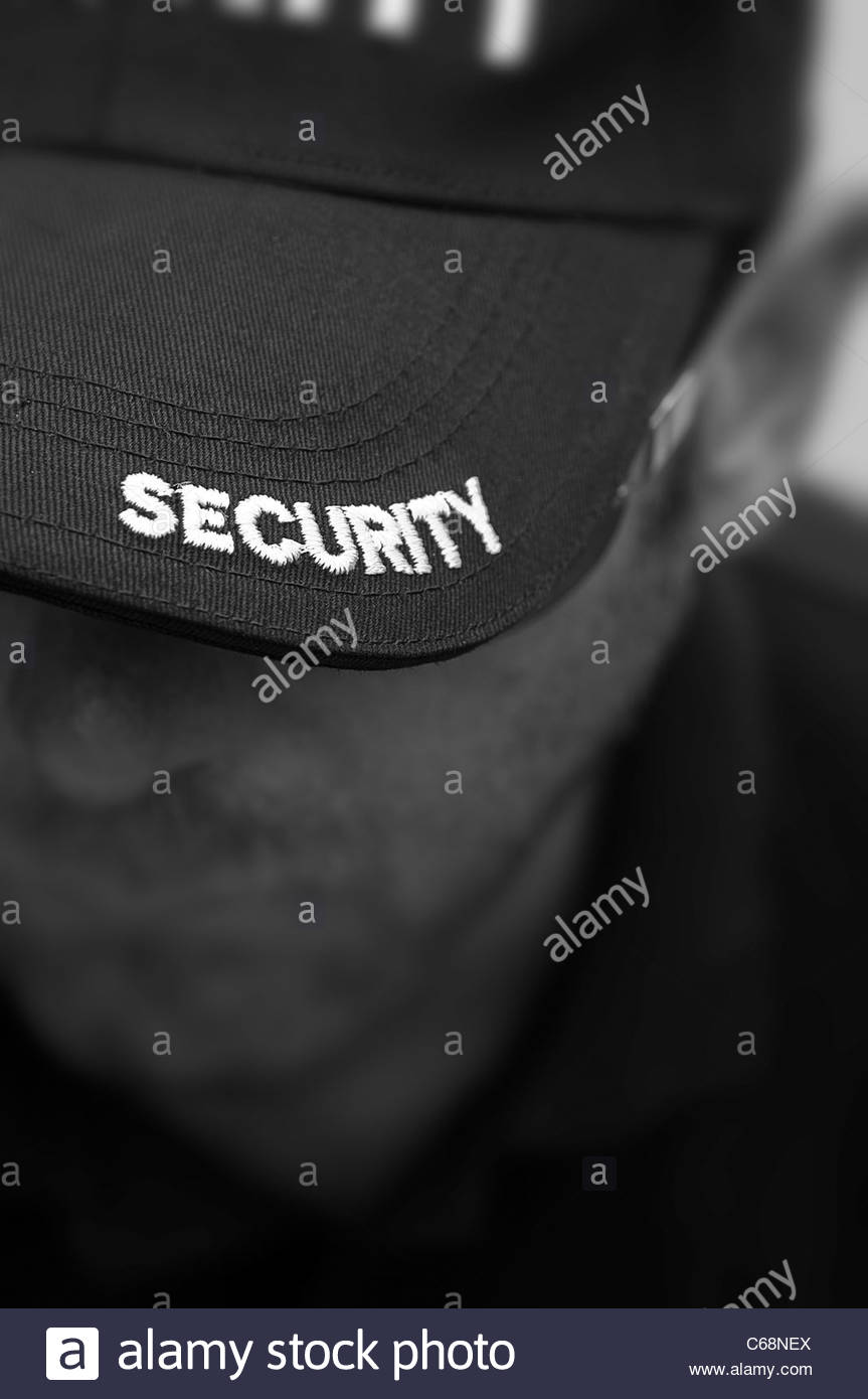 Security Guard Stockbild