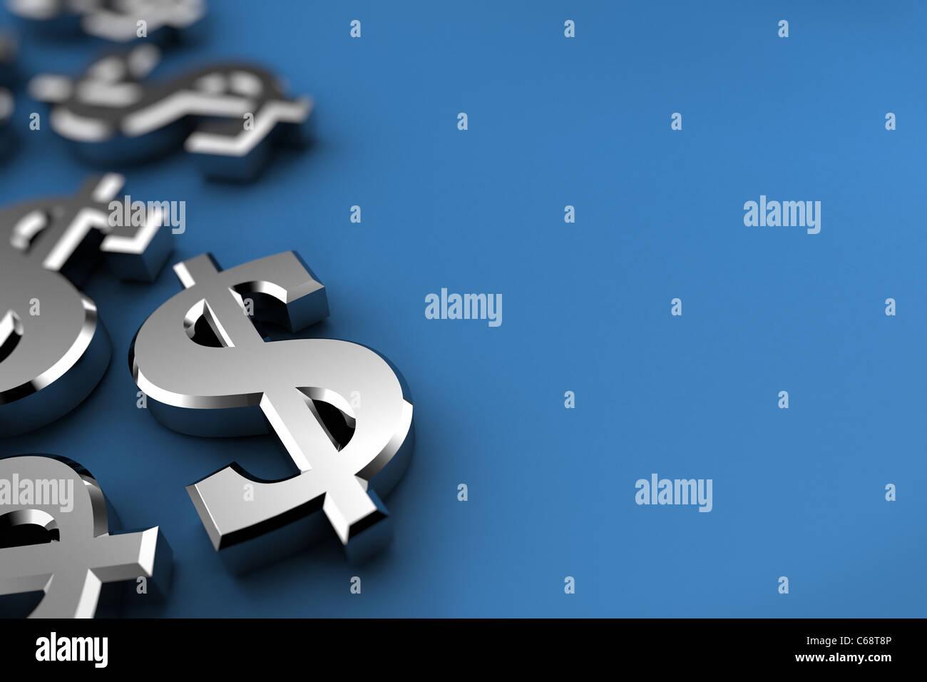 Dollar-Konzept Stockbild