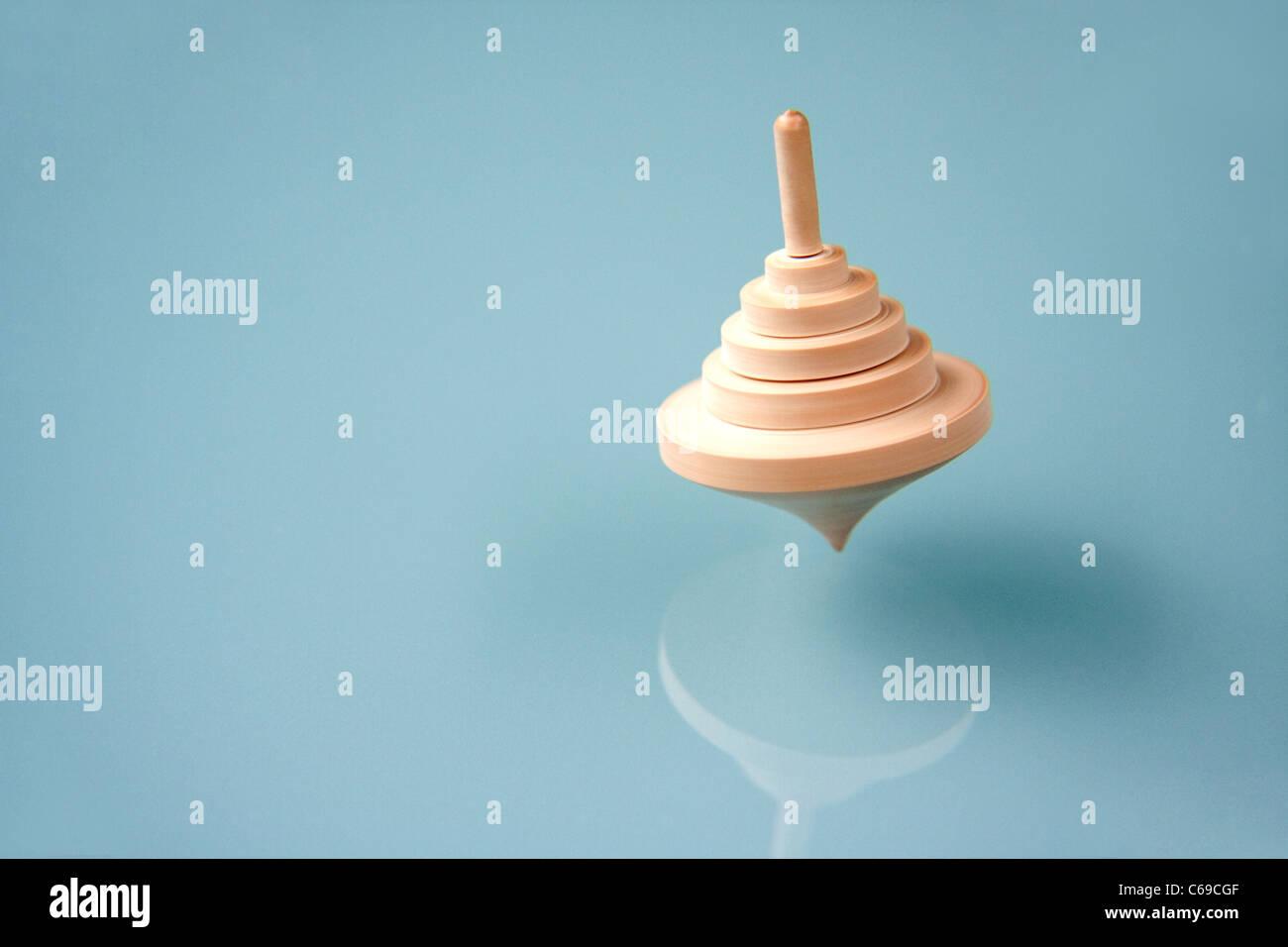 Spinning Top Spielzeug Stockbild