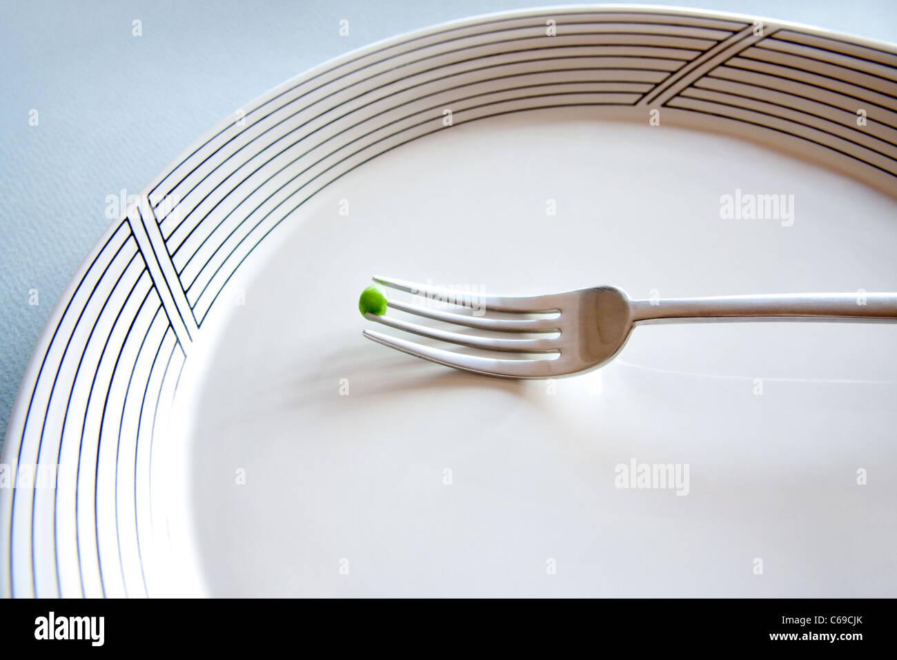 Eine Diät Stockbild