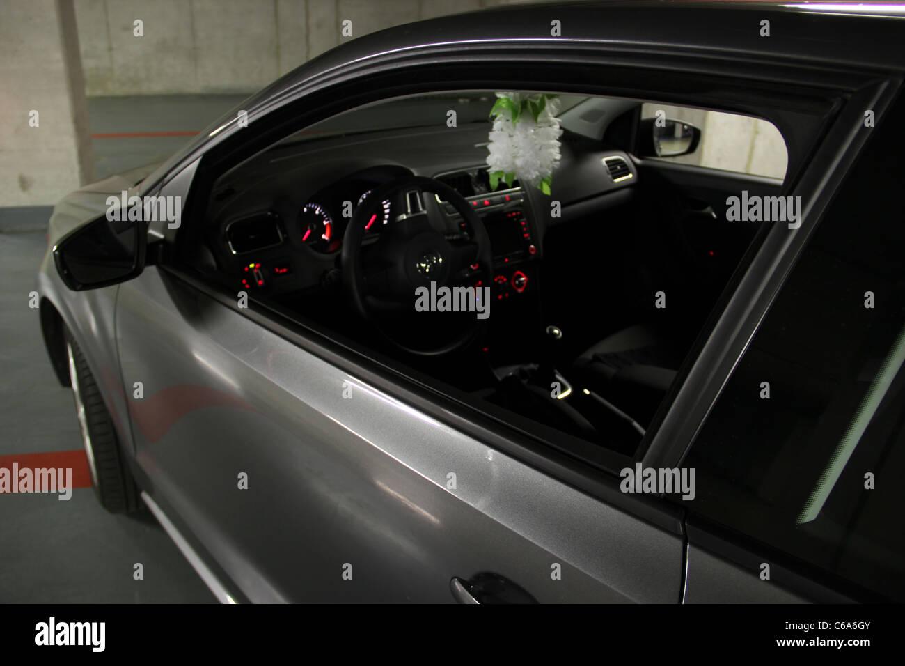 Dies war ein Shooting von einem Volkswagen Polo 6R Interieur ...