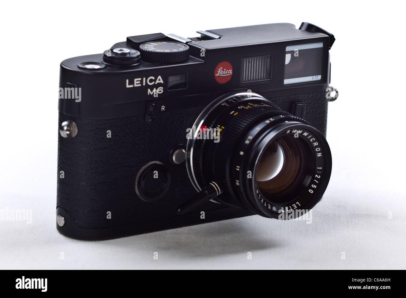 Entfernungsmesser Zeiss Oder Leica : Leica filmkamera stockfotos bilder alamy