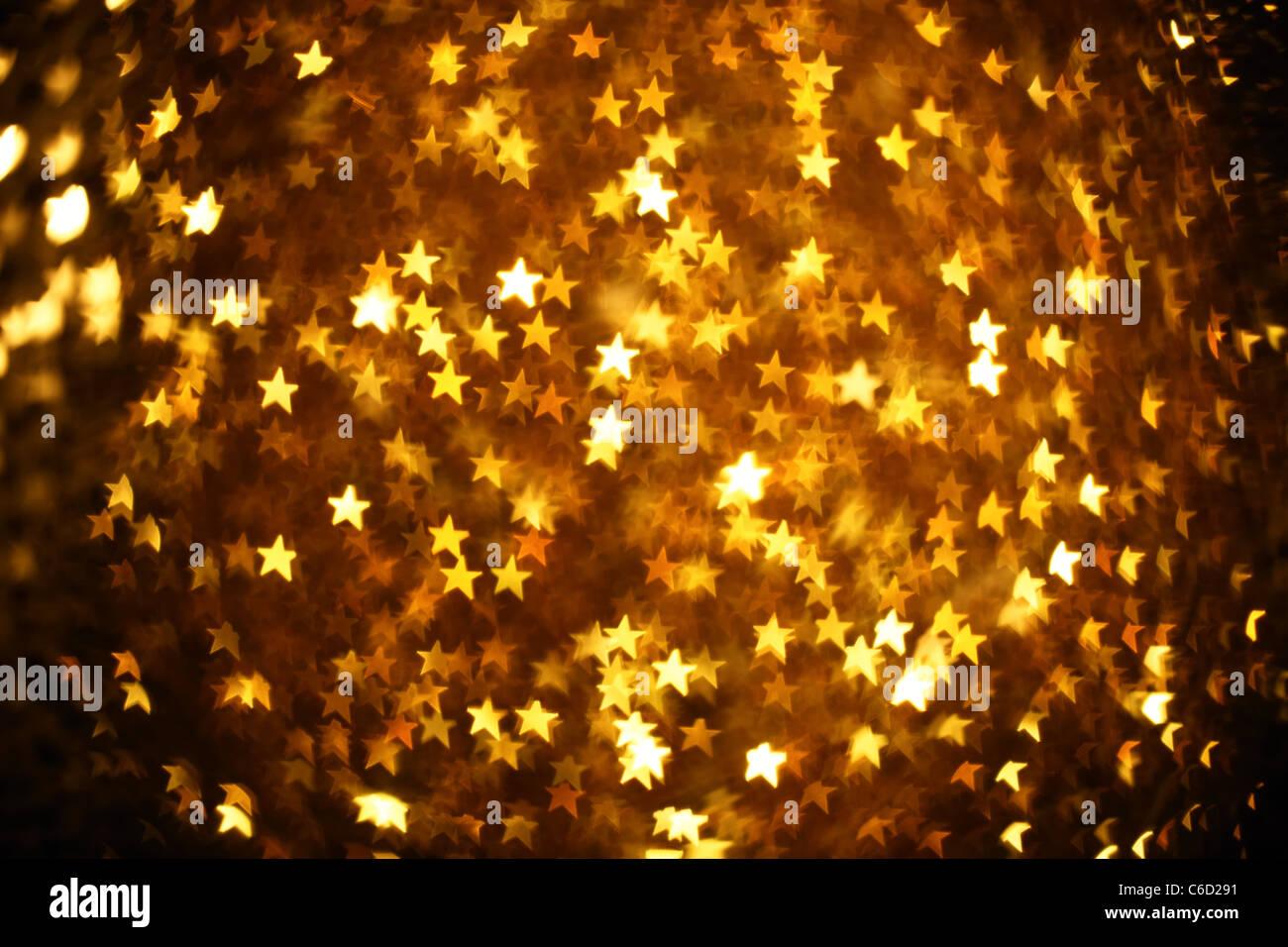 Glanz der Farbe Weihnachten Beleuchtung Hintergrund Stockbild