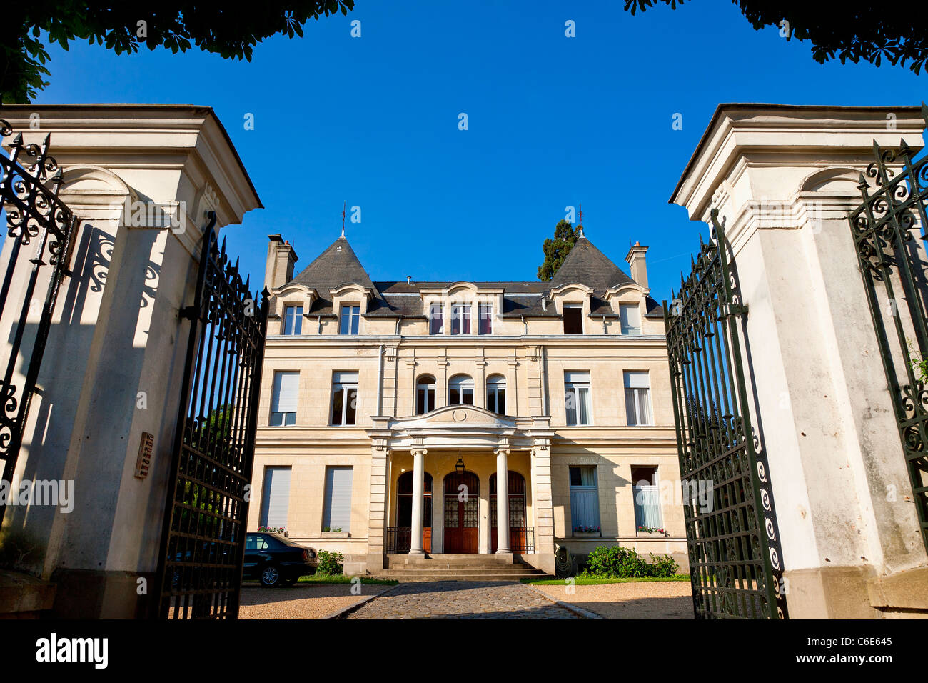 Europa, Frankreich, Yvelines (78), Rambouillet Wohnung Stockbild