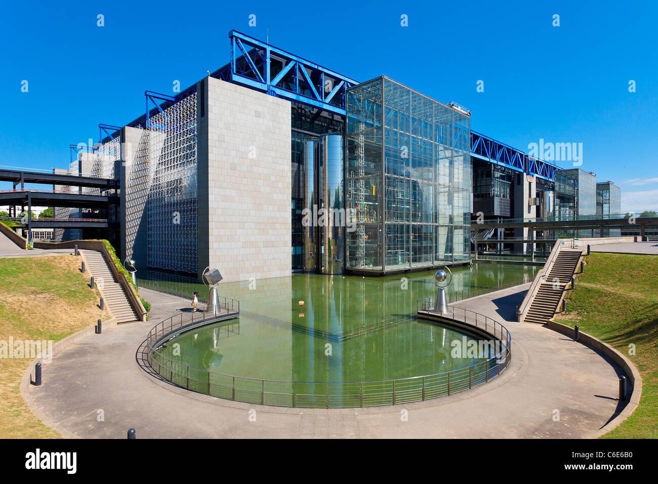 Frankreich, Paris (75), die Stadt der Wissenschaften und der Industrie in La Villette Park Stockbild