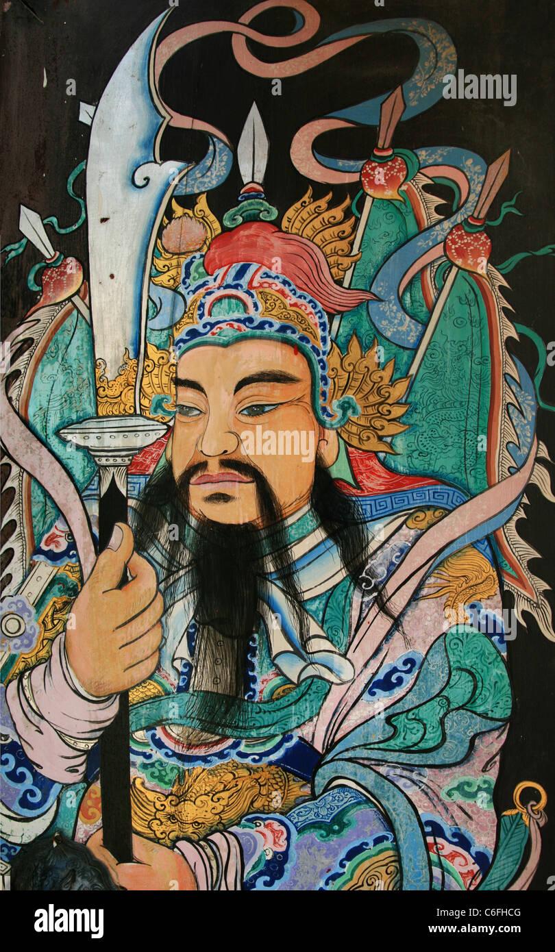 asiatischen frau krieger fantasy kunst