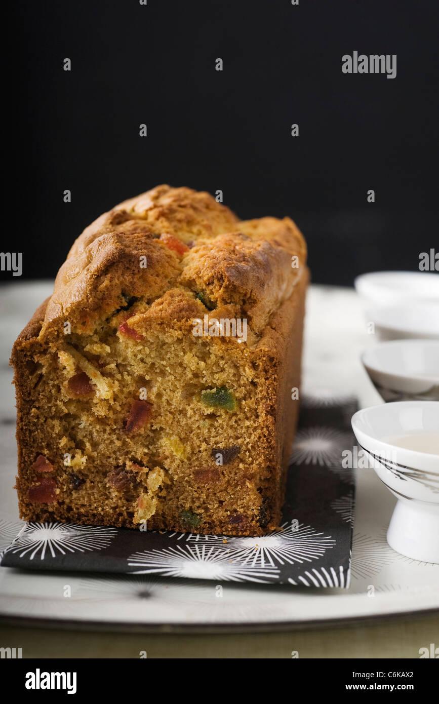 Ingwer-Früchtekuchen Stockbild