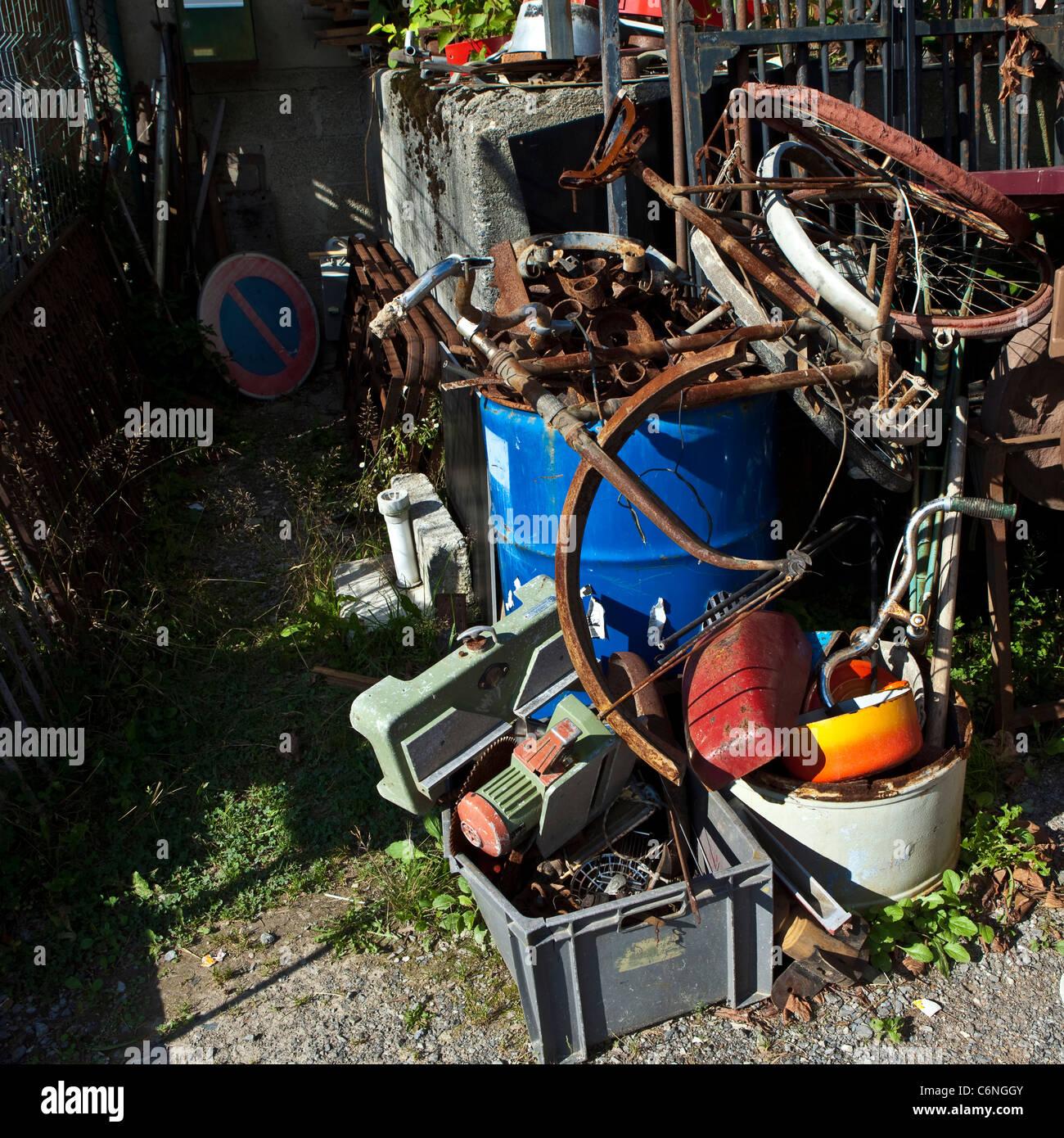 Eisenschrott Stockfotos Eisenschrott Bilder Alamy