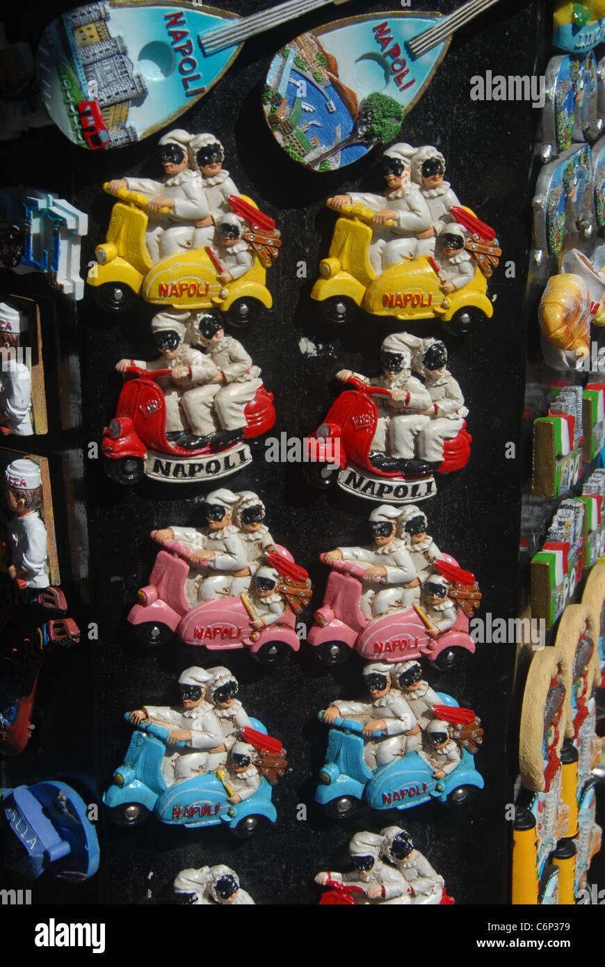 Roller Kühlschrank Magnet Souvenir Italien Stockfoto, Bild: 38594173 ...