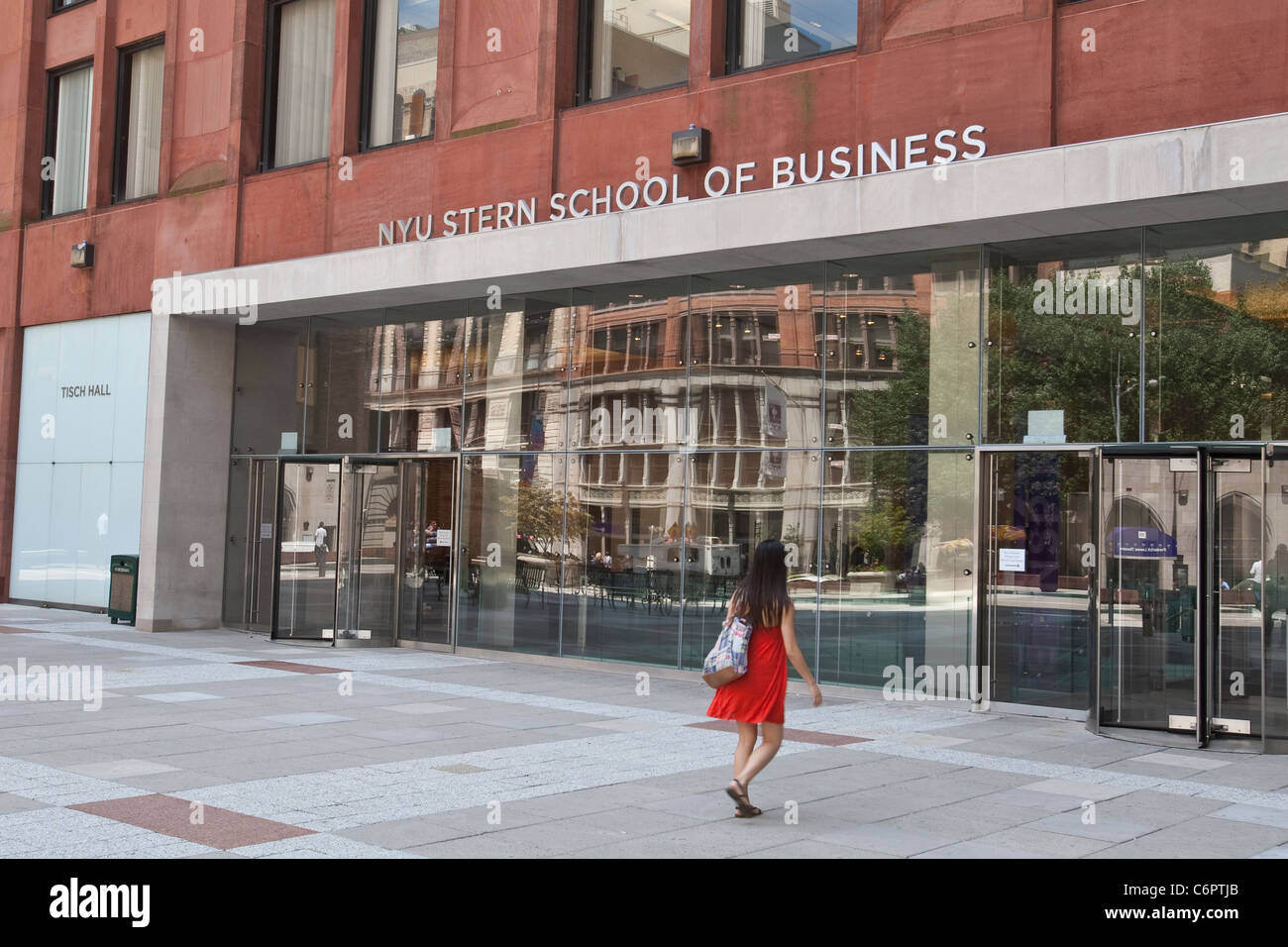 NYU Stern of Business der New York University ist in der ...