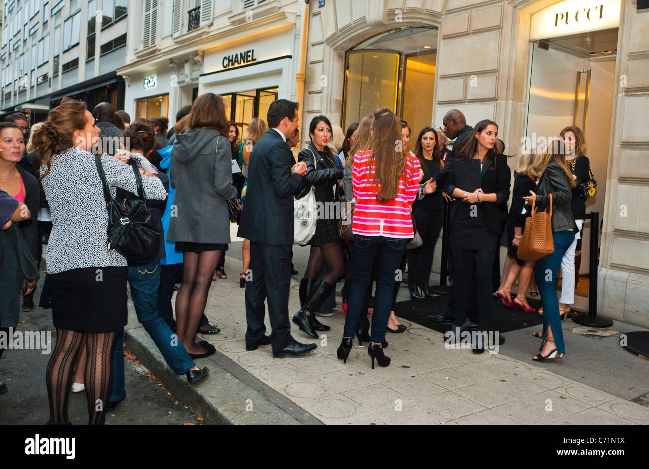 Vogue Fashion's Night Out: Paris Edition Paris Chic