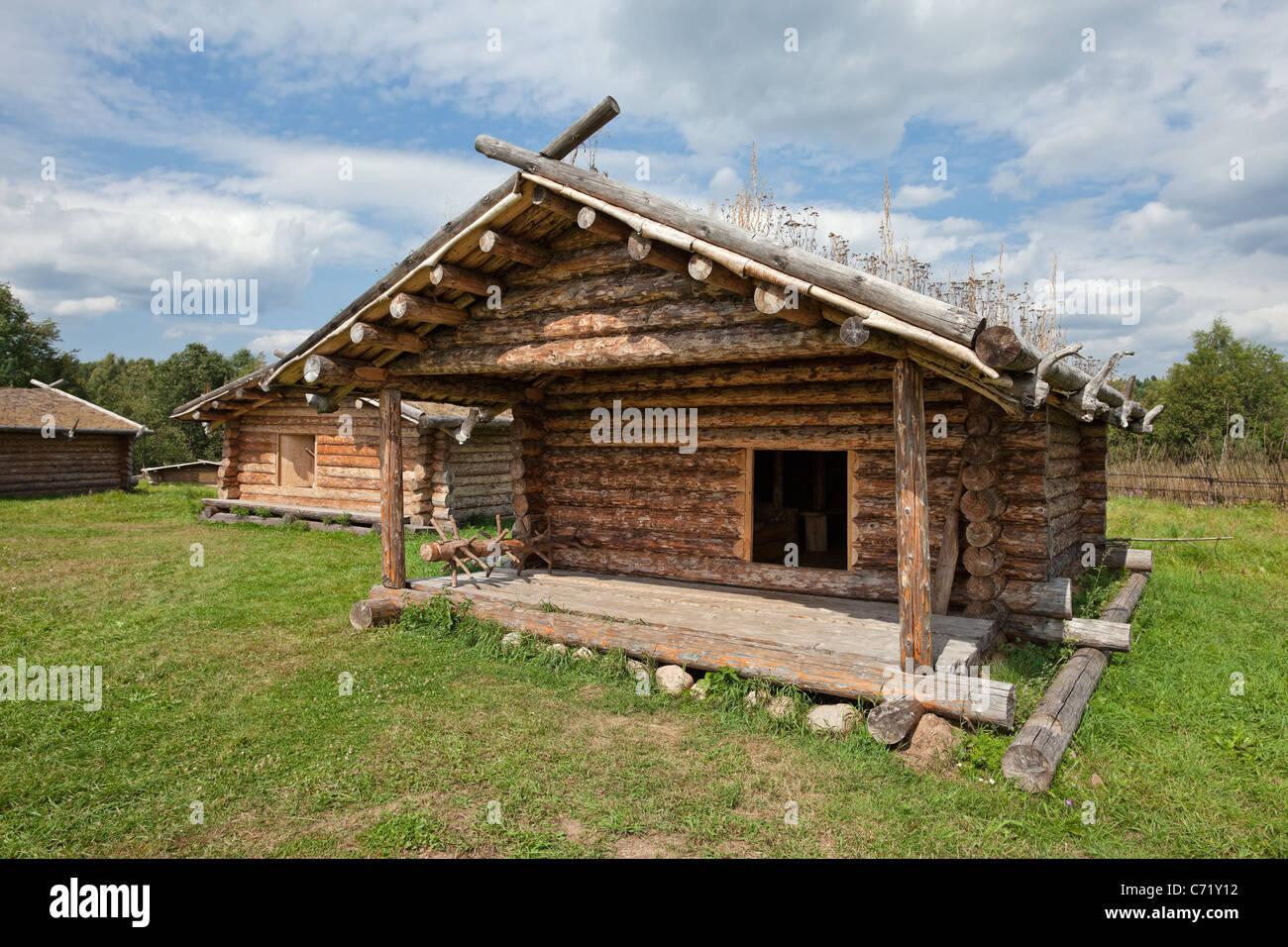 Unglaublich Russisches Holzhaus Referenz Von Alten Traditionellen Russischen X Jahrhundert
