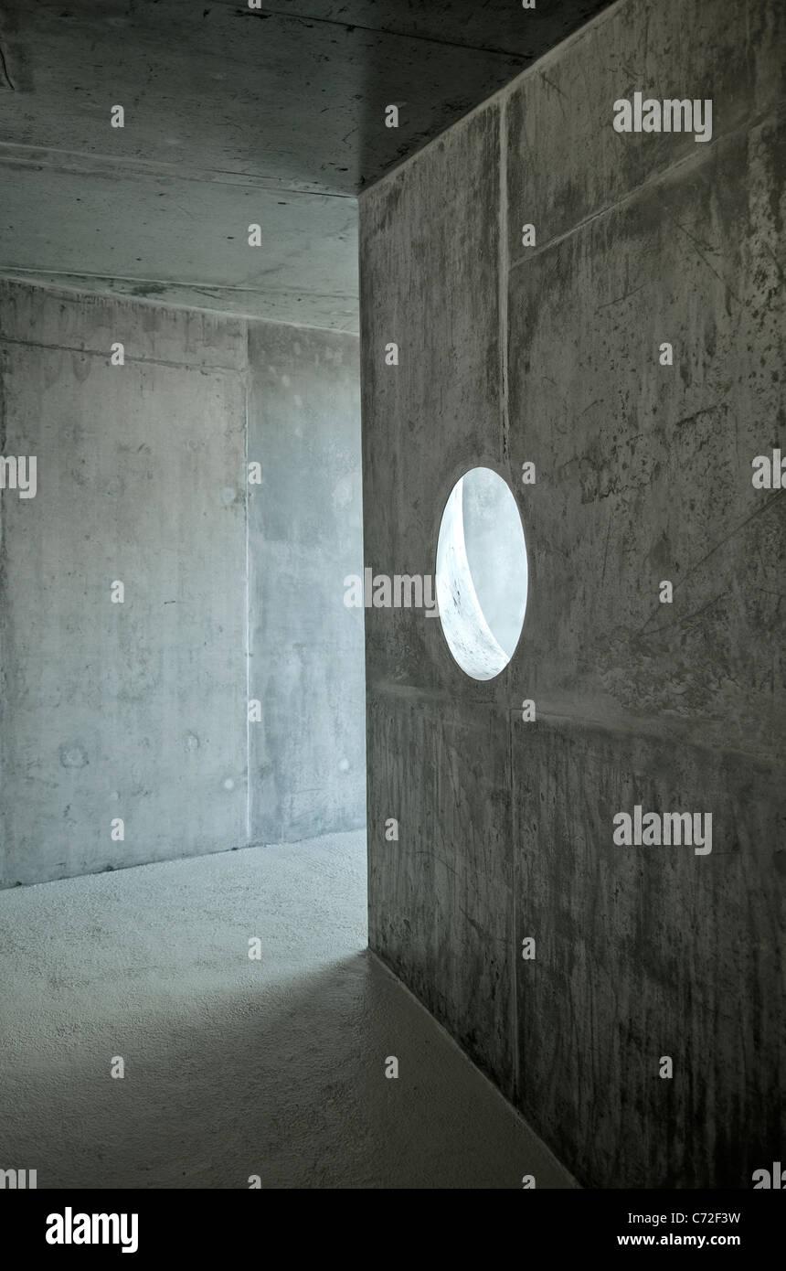 zeitgenössische Architektur Innenarchitektur detail Stockbild