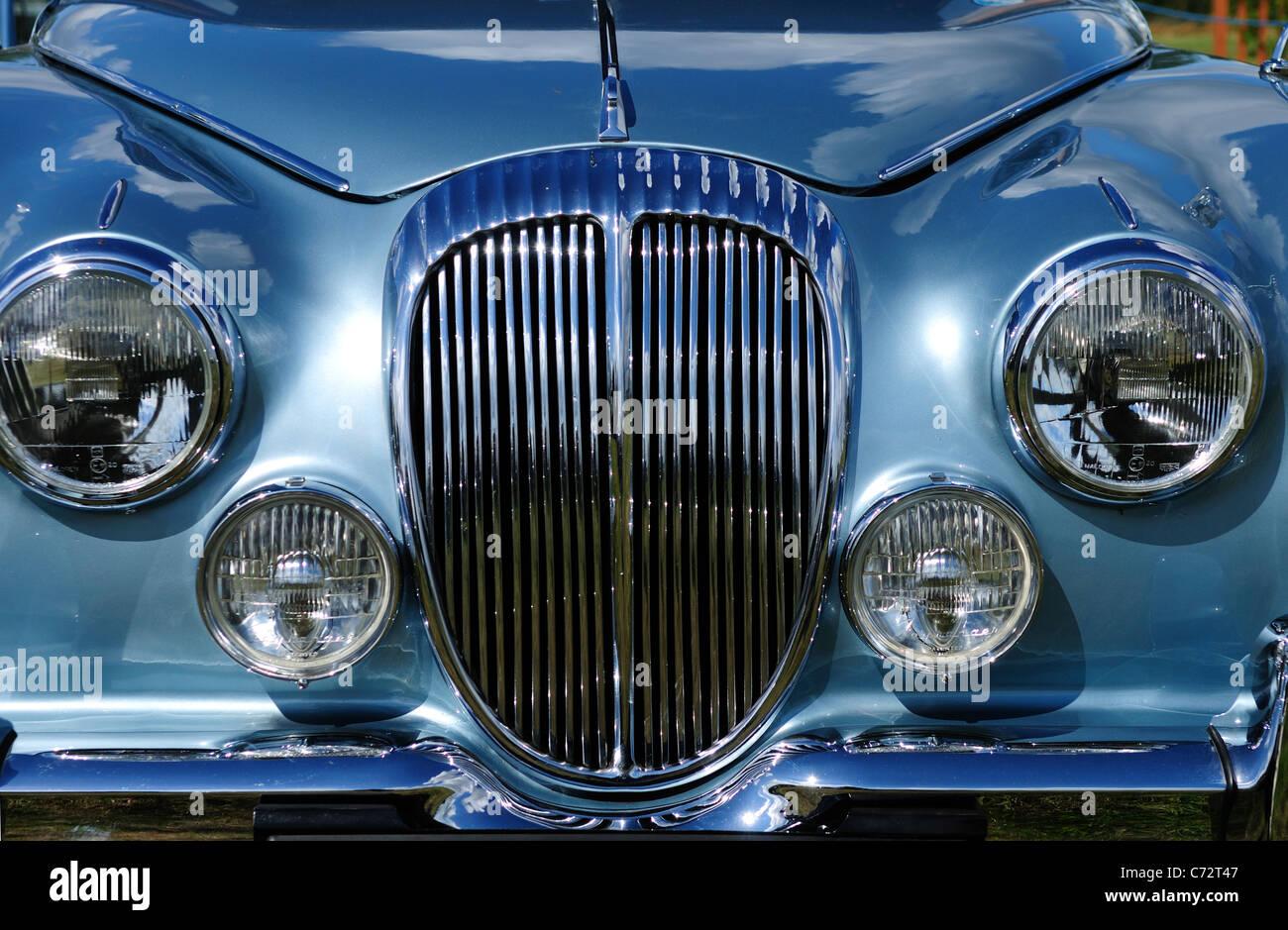 Jaguar Oldtimer. Stockbild