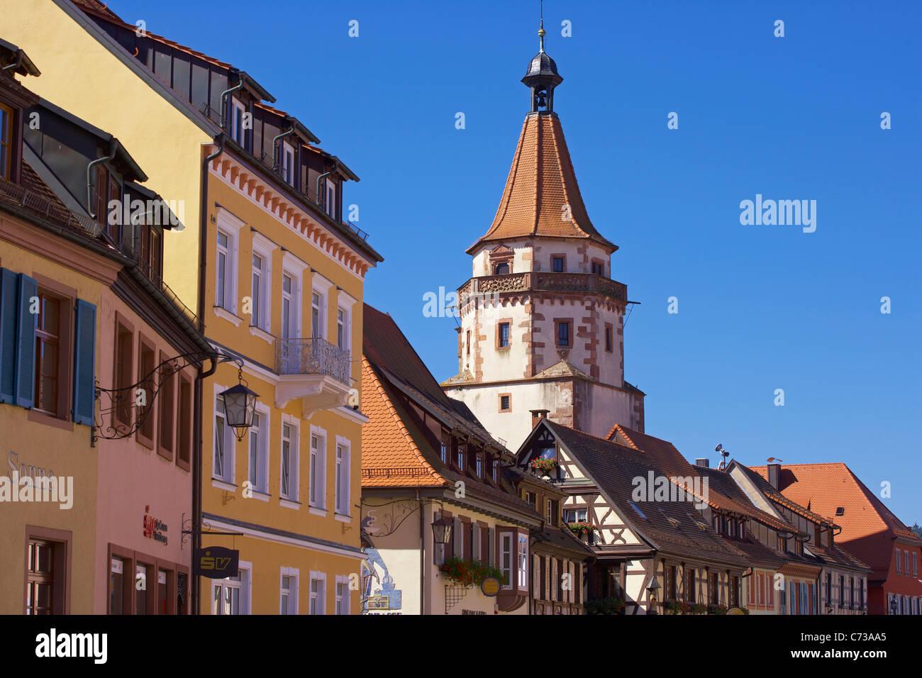 Turm Niggelturm bei der Stadt Gengenbach Gengenbach