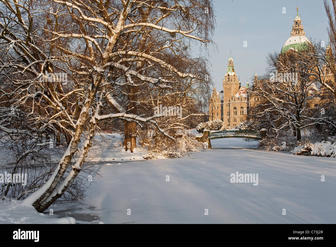 hannover germany winter stockfotos hannover germany winter bilder alamy. Black Bedroom Furniture Sets. Home Design Ideas