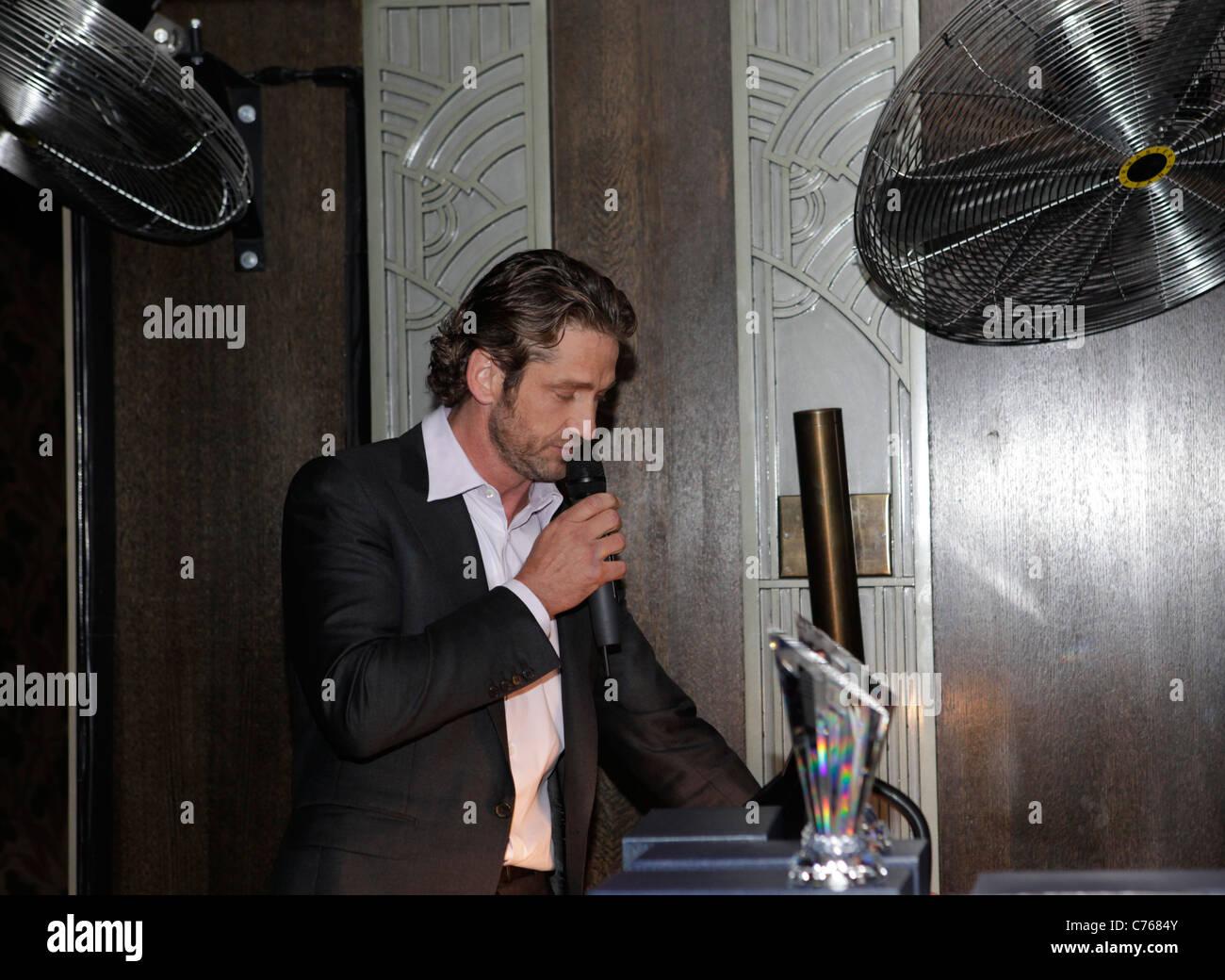 Gerard Butler Schauspieler beim Tiff. Toronto International Filmfestival 2011 Stockbild
